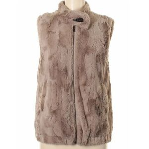 Sanctuary Clothing Faux Fur Vest